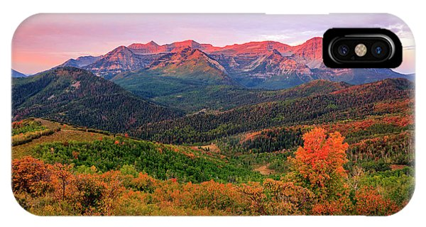 Wasatch Back Autumn Morning IPhone Case