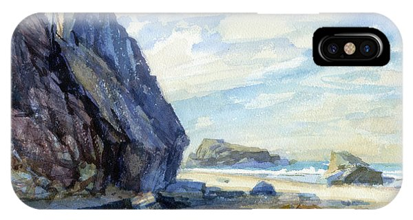 Tidal Waves iPhone Case - Washed Ashore by Steve Henderson