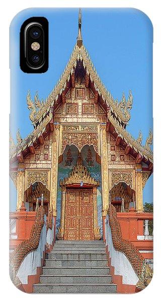 Wat Nong Tong Phra Wihan Dthcm2639 IPhone Case