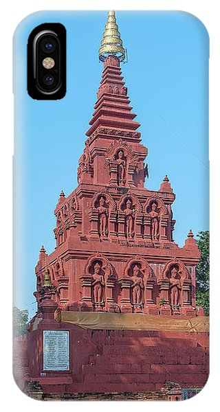 IPhone Case featuring the photograph Wat Pa Chedi Liam Phra Chedi Liam Dthcm2670 by Gerry Gantt