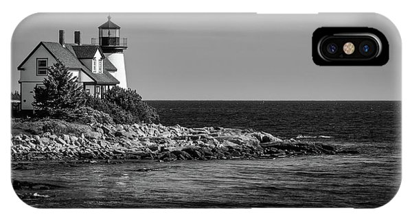 Watching Over Prospect Harbor IPhone Case