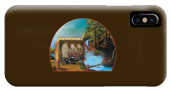 Water Wheel Overlay IPhone Case