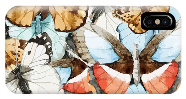 New Trend iPhone Case - Watercolor, Butterfly, Pattern by Anastasia Lembrik