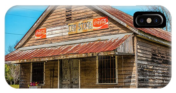 iPhone Case - Wateree Country Store  by Thomas R Fletcher