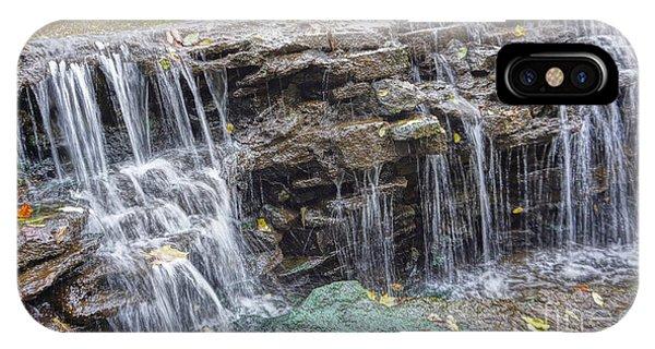 Waterfall @ Sharon Woods IPhone Case
