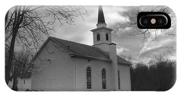 Waterloo United Methodist Church - Back IPhone Case