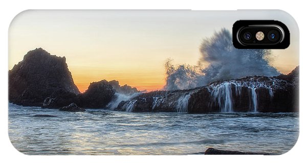 Wave Burst IPhone Case