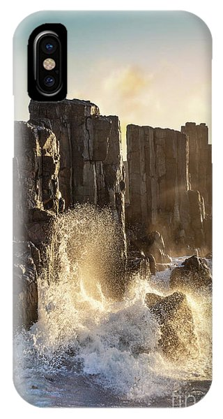 Nsw iPhone Case - Wave Force by Evelina Kremsdorf