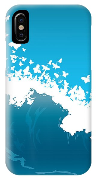 Wave Illustration Phone Case by Mire