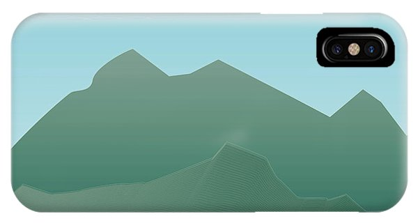 Wave Mountain IPhone Case