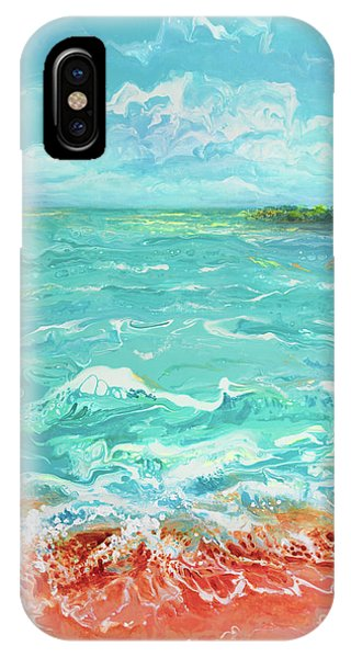 Waves At Sombrero Beach IPhone Case