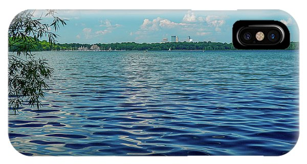 Waves On Lake Harriet IPhone Case
