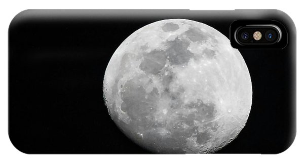 IPhone Case featuring the photograph Waxing Gibbous by Thomas Kallmeyer