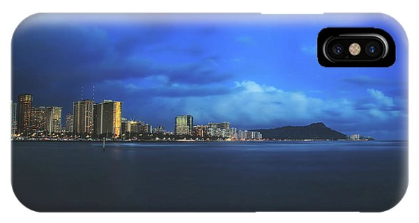 Oahu Hawaii iPhone Case - We Always Make It Through by Laurie Search