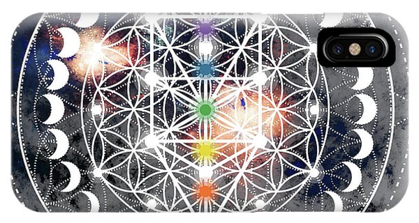 IPhone Case featuring the digital art We Are Beings Of Light by Bee-Bee Deigner