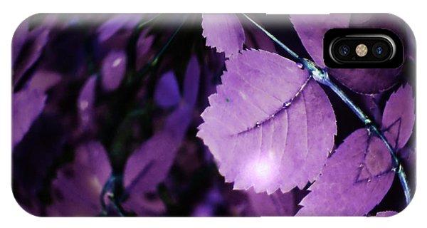 Purple Rain iPhone Case - We Are The Earth 2 by Tara Turner