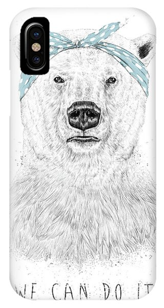 Pop-culture iPhone Case - We Can Do It by Balazs Solti