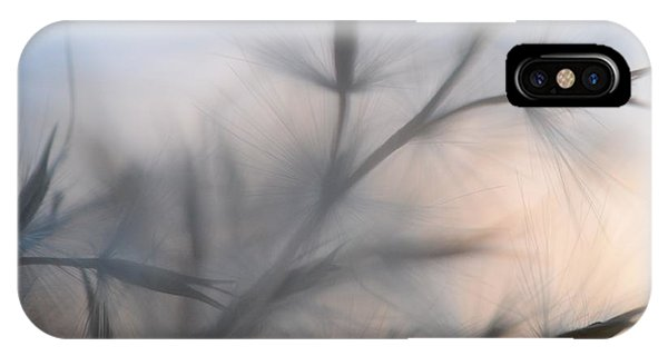 IPhone Case featuring the photograph Weed Abstract 3 by Marianna Mills