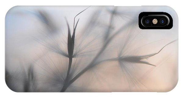 IPhone Case featuring the photograph Weed Abstract 4 by Marianna Mills