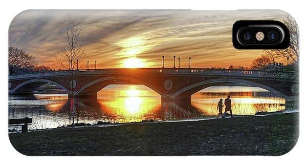 Weeks Bridge At Sunset IPhone Case
