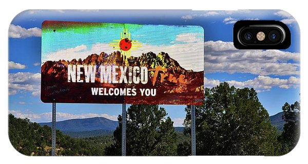 Welcome To New Mexico Phone Case by David Burks
