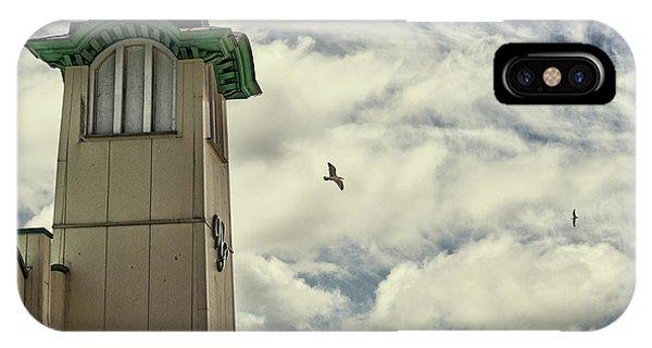 IPhone Case featuring the photograph Wellington Pier Entertainment Centre Tower by Scott Lyons