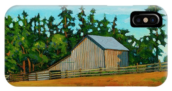 Whidbey iPhone Case - West Beach Barn by Stacey Neumiller