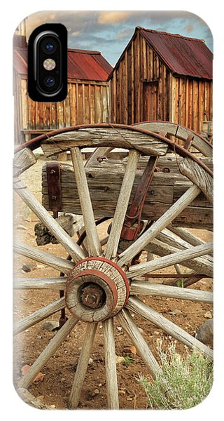 Wheels And Spokes In Color IPhone Case