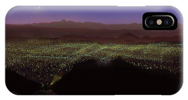 When Tucson's Lights Flicker On IPhone Case