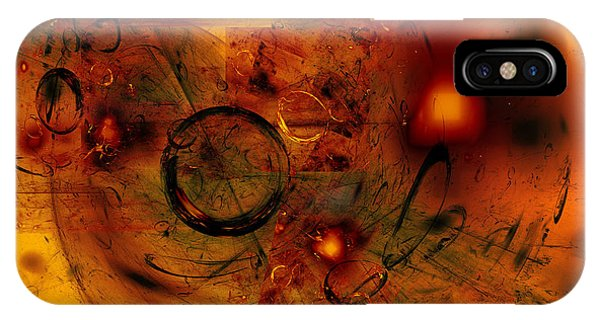 IPhone Case featuring the digital art When We Were Kids by Jeff Iverson