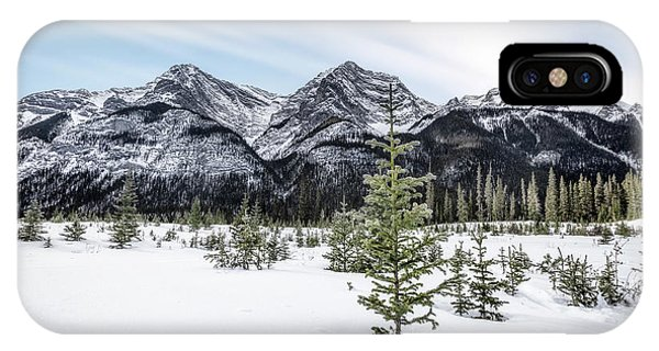 Banff iPhone Case - When Winter Comes by Evelina Kremsdorf