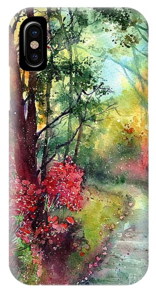 Path iPhone Case - Where Do We Go by Suzann's Art