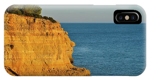 Where Land Ends In Carvoeiro IPhone Case
