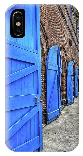 Which Blue Door IPhone Case