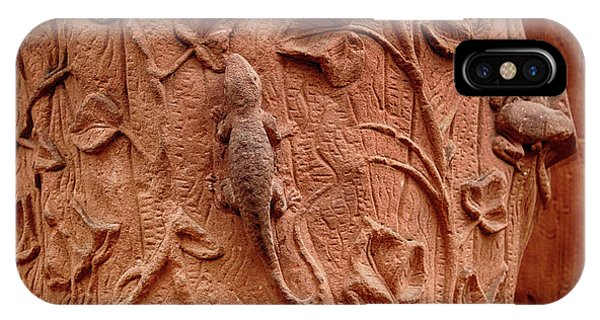 Whimsical And Lifelike Carvings On Heidelberg Castle IPhone Case