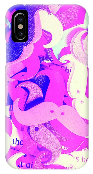 Moustache iPhone Case - Whiskers And Words by Jorgo Photography - Wall Art Gallery