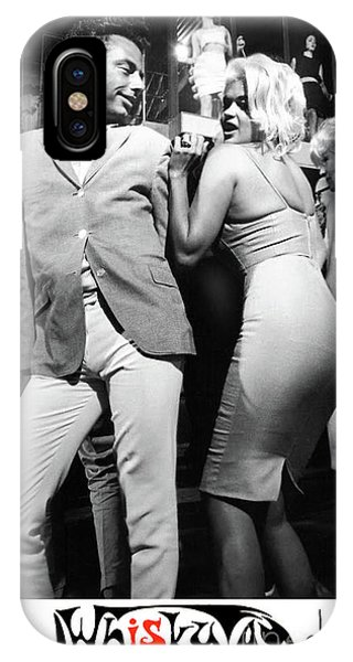 Sonny And Cher iPhone Case - Whiskey A Go Go, Jayne Mansfield by Thomas Pollart