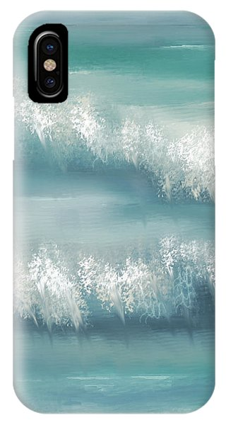 Whispering Waves IPhone Case