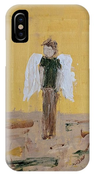 Whistling Angel IPhone Case