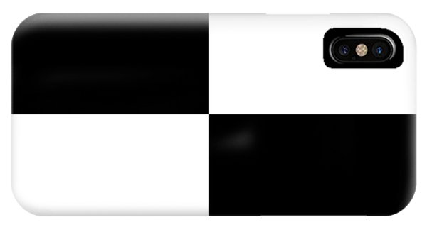 White And Black Squares - Ddh586 IPhone Case