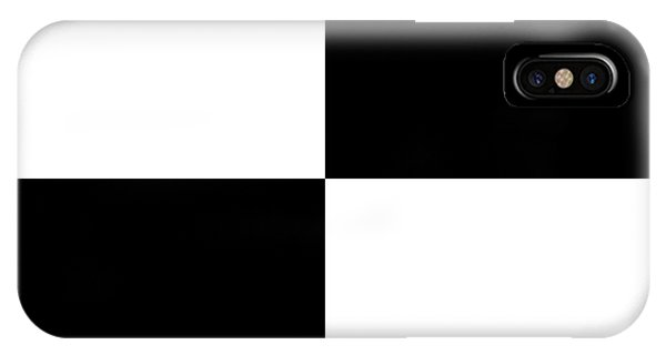White And Black Squares - Ddh588 IPhone Case