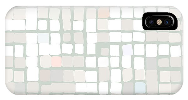 IPhone Case featuring the digital art White by Attila Meszlenyi