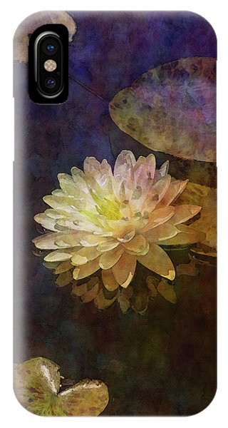 White Lotus Lily Pond 2938 Idp_2 IPhone Case