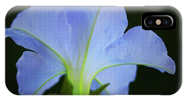 White Petunia IPhone Case
