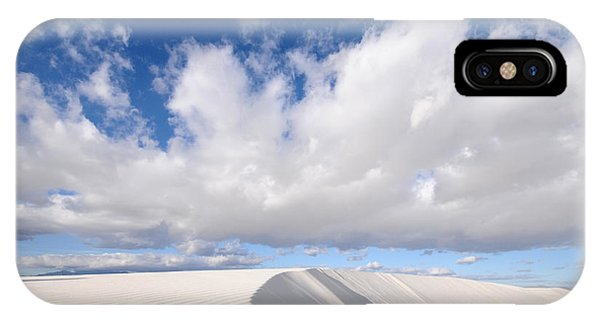 Ripples iPhone Case - White Sands National Monument In New by Kojihirano