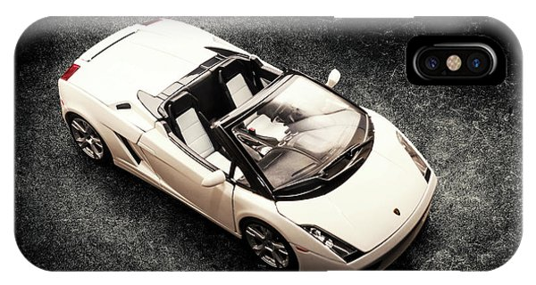 iPhone Case - White Spyder by Jorgo Photography - Wall Art Gallery