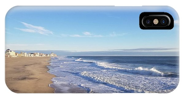 IPhone Case featuring the photograph White Waves by Robert Banach