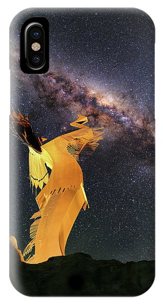 IPhone Case featuring the photograph Wichita Nights by JC Findley