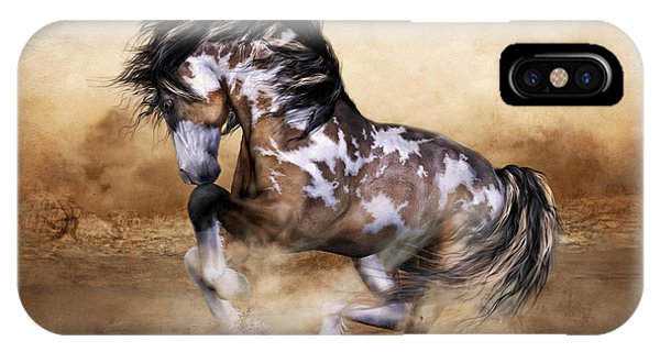 Southwest iPhone Case - Wild And Free Horse Art by Shanina Conway