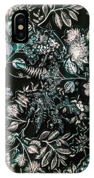 Garden Wall iPhone Case - Wild Decorations by Jorgo Photography - Wall Art Gallery